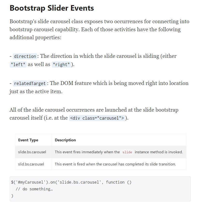 Bootstrap Slider With Thumbnail