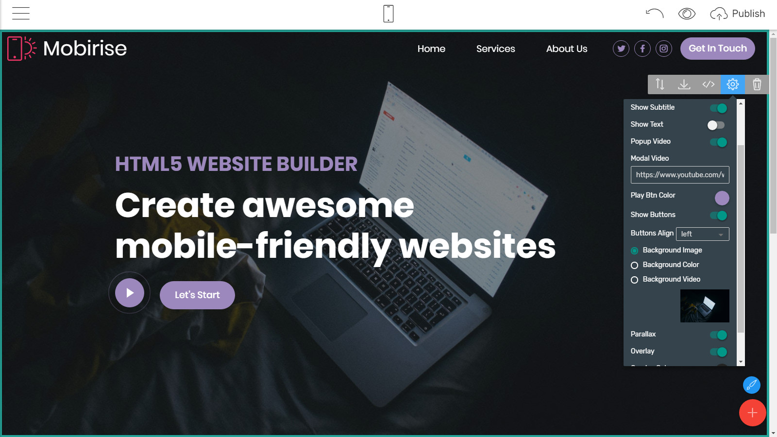 mobile-friendly website layouts